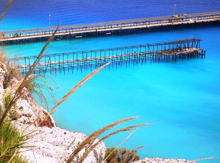 Les plages de Lipari sont... superbes.