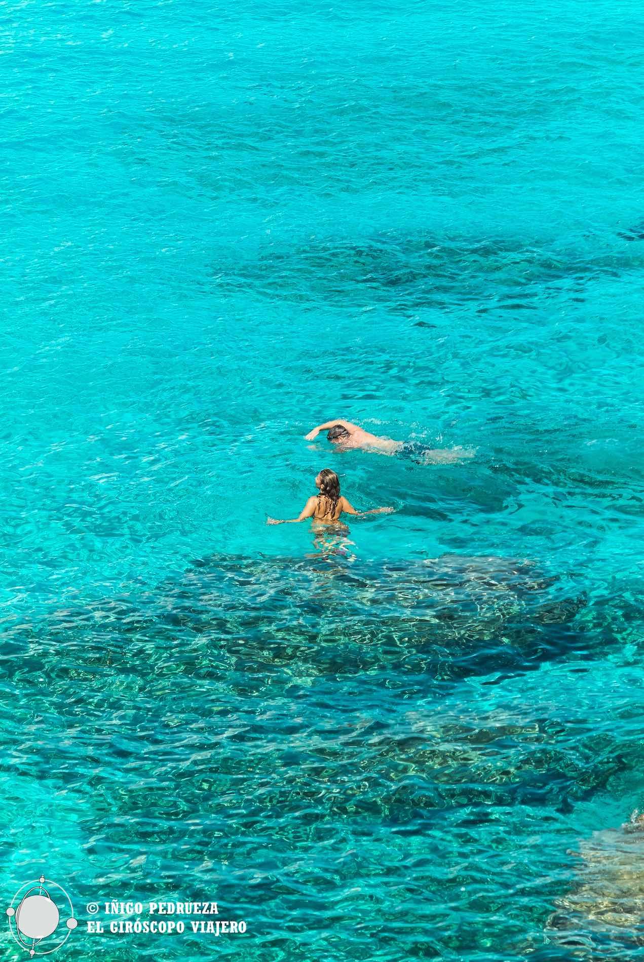 Anciennes carrières qui sont des plages, des eaux turquoises à perte de vue... Favignana c'est un paradis. ©Iñigo Pedrueza.