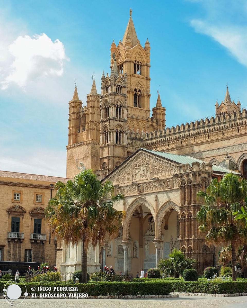 Cathedrale de Palerme, superbe style arab-normand. ©Iñigo Pedrueza.