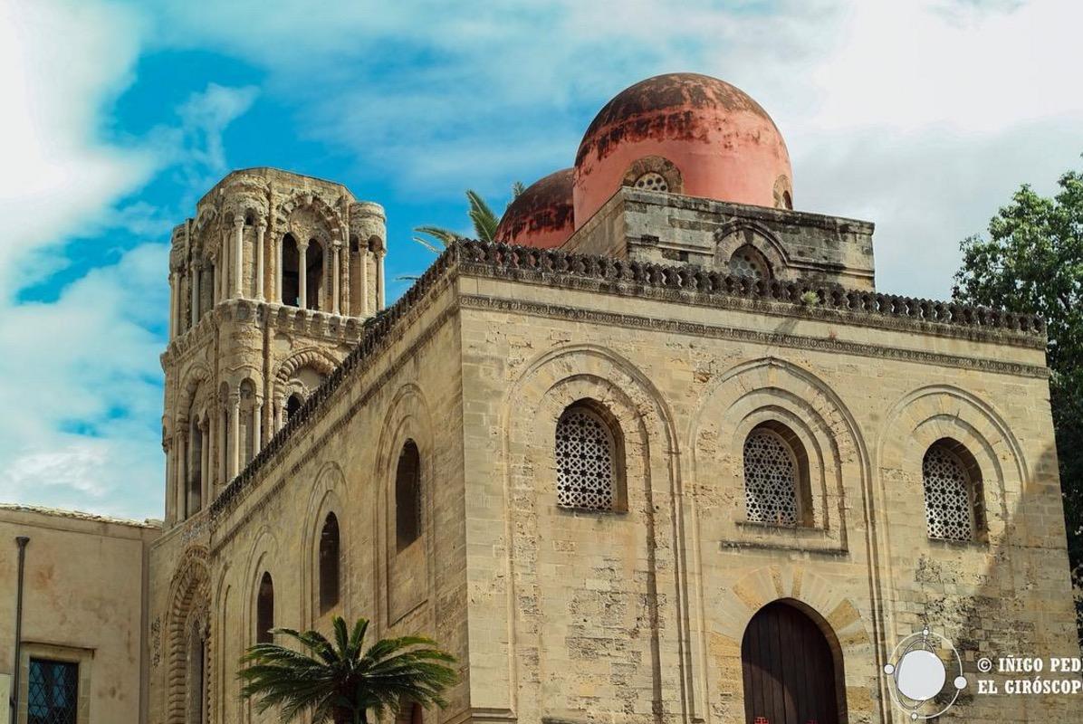 Eglise de San Cataldo superbe style arab-normand. ©Iñigo Pedrueza.