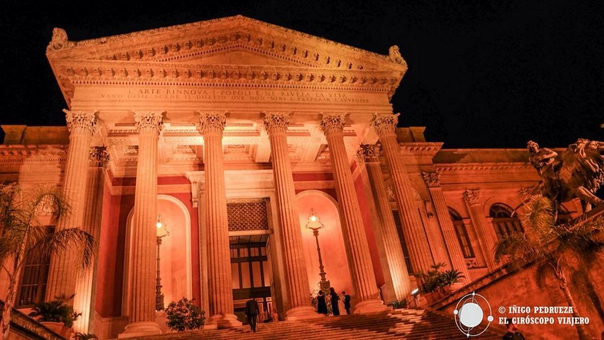 Théâtre Massimo, bellisimo. ©Iñigo Pedrueza.