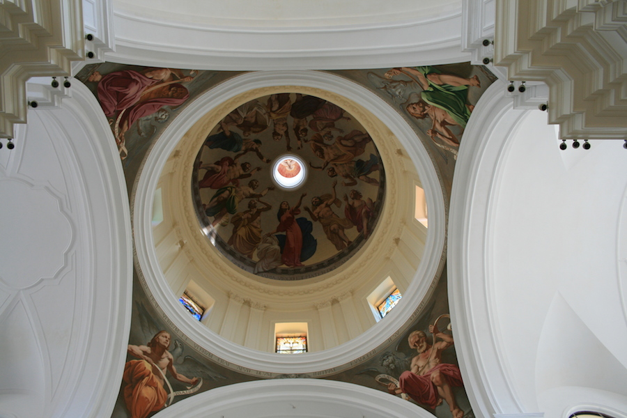 Fresques de l'intérieur de la cathédrale di Nicolo. Photo de Aitor Pedrueza.
