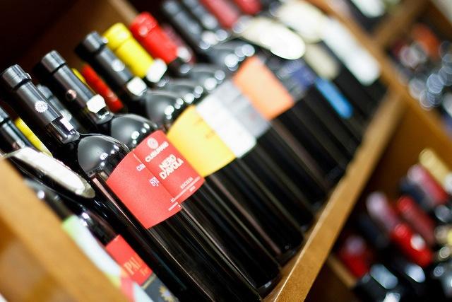 VIns rouges, blanc, roses, liquoeurs, touen en Sicile.