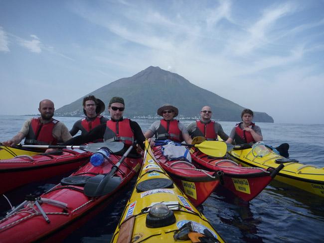 La Sicile depuis la mer en Kayak. Expérience inoubliable.