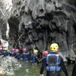 Canyoning dans les gorges de l'Alcantara